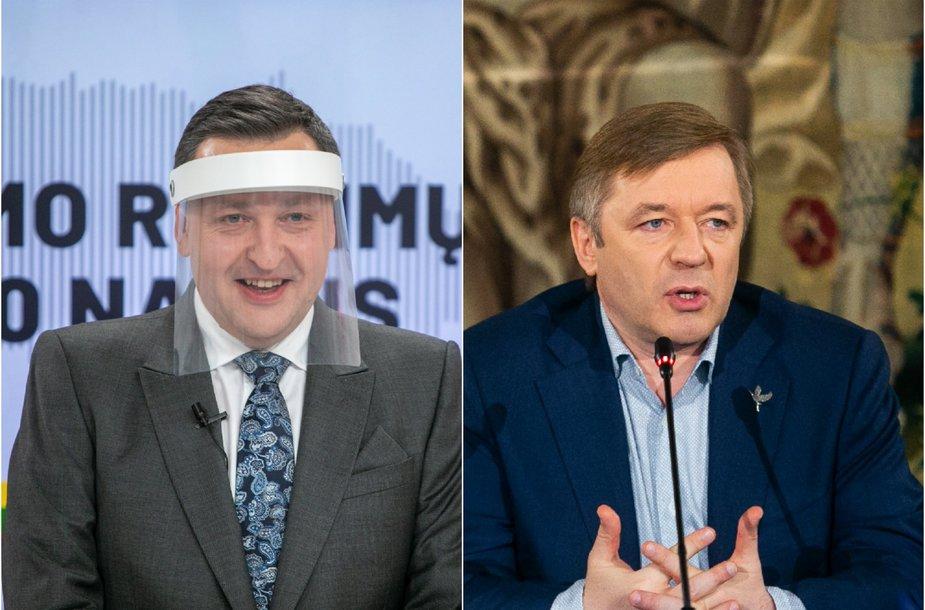 Antanas Guoga ir Ramūnas Karbauskis