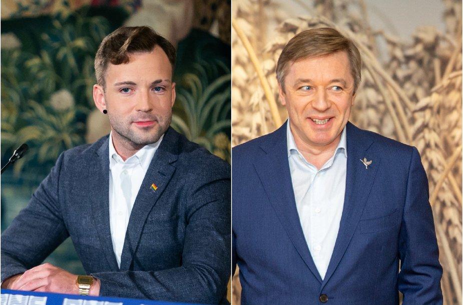 Tomas Vytautas Raskevičius ir Ramūnas Karbauskis