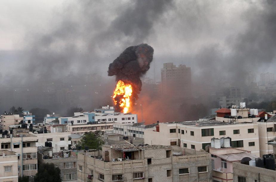 Apšaudyta Palestinos teritorija