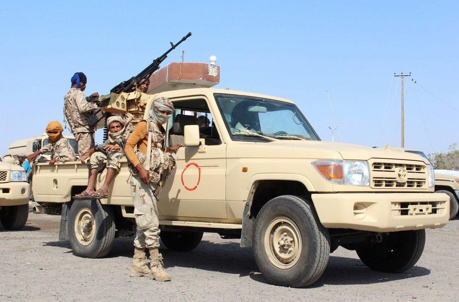 """Jemene per puolimą prieš džihadistus nukauta 800 """"al Qaeda"""" kovotojų"""