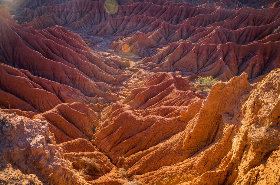 Įspūdingoji Tatakoa dykuma Kolumbijoje