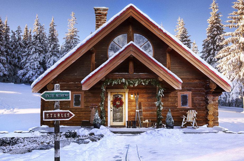 Parduodamas Kalėdų senio namas