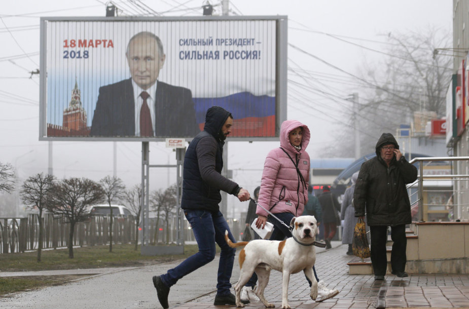 Prezidento rinkimų agitacija Rusijoje