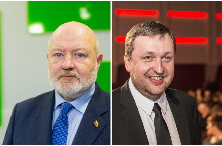 Eugenijus Gentvilas ir Antanas Guoga