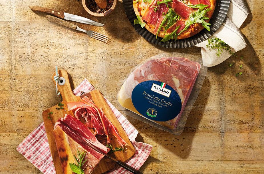 """""""Italiamo"""" itališkas vytintas kiaulienos kumpis"""