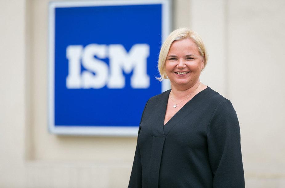 pagr. ISM Tarptautinės rinkodaros ir vadybos magistrantūros programos vadovė doc. dr. Lineta Ramonienė
