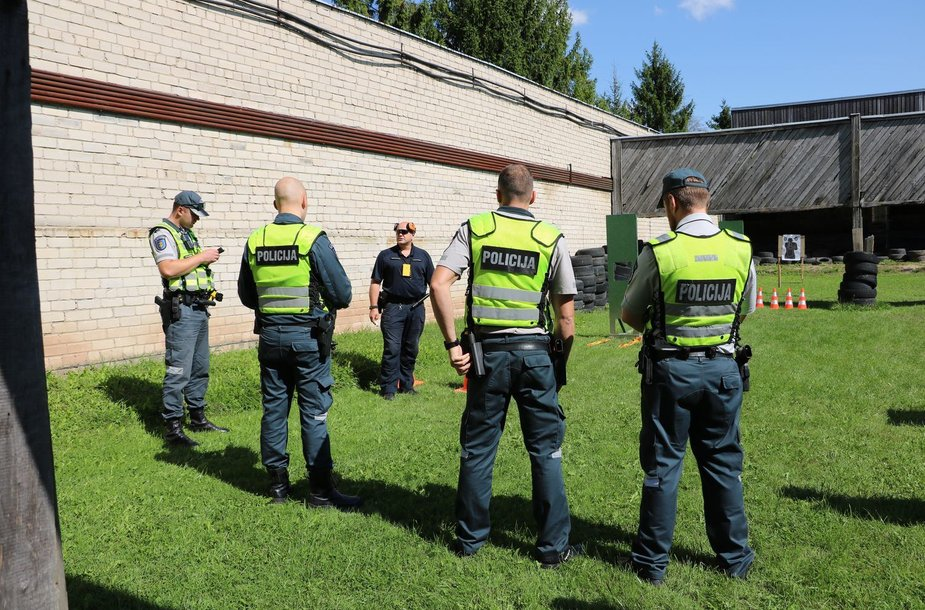Išrinkti geriausi Kauno apskrities policijos pareigūnai