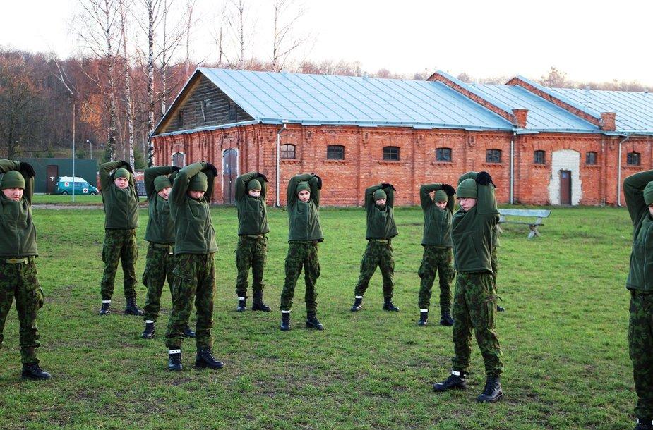 Juozo Vitkaus inžinerinio bataliono šauktiniai