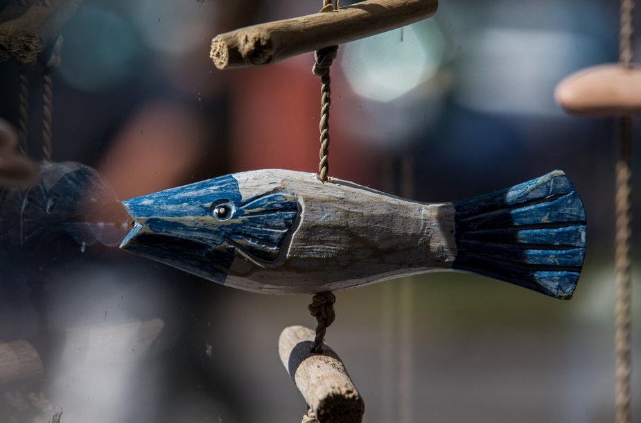 """""""Fisheria"""" - šviežios žuvies restoranas Nidoje"""