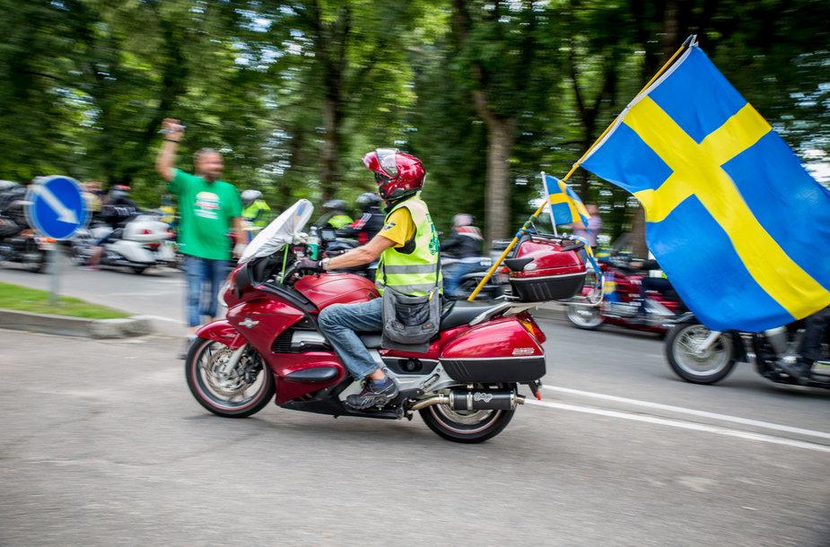 """""""FIM rally"""" renginyje dalyvavo apie 1000 motociklų"""