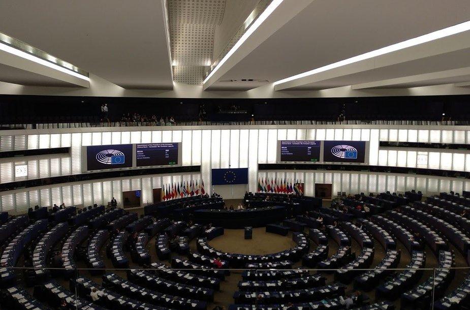 EP posėdžių salė
