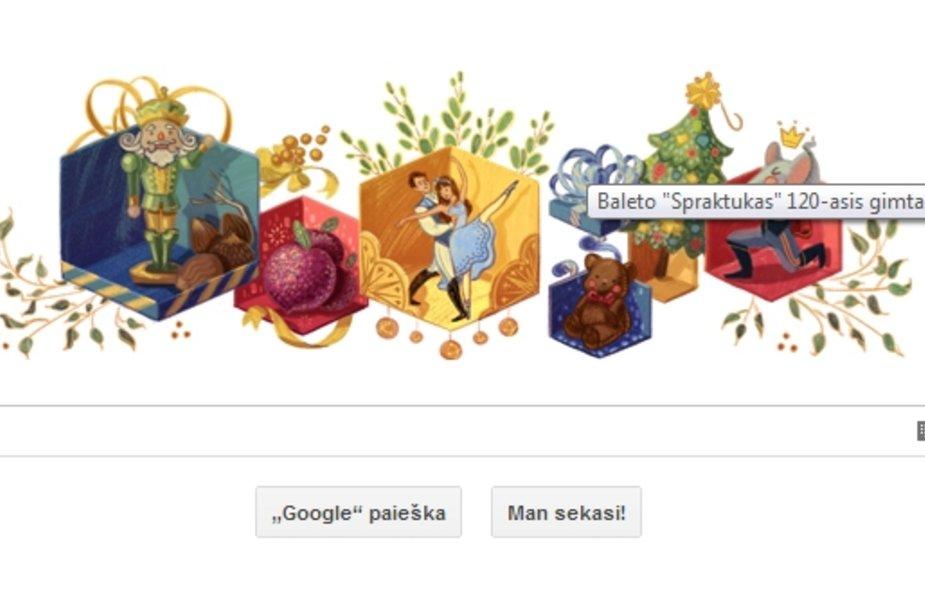Google pradinis puslapis
