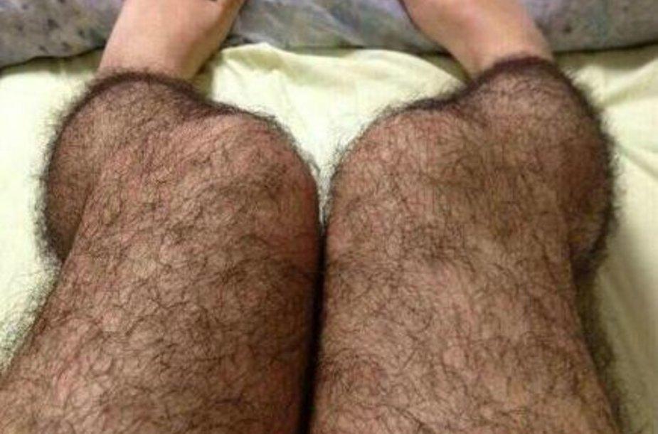 Plaukuotos pėdkelnės