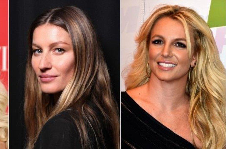 Christina Aguilera, Gisele Bundchen, Britney Spears, Alessandra Ambrosio