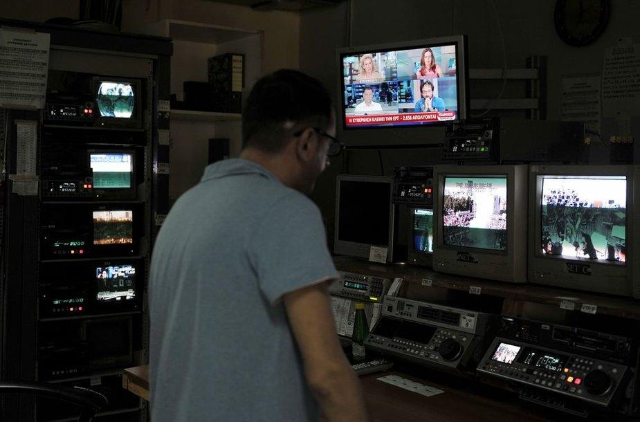 ERT televizijos darbuotojas
