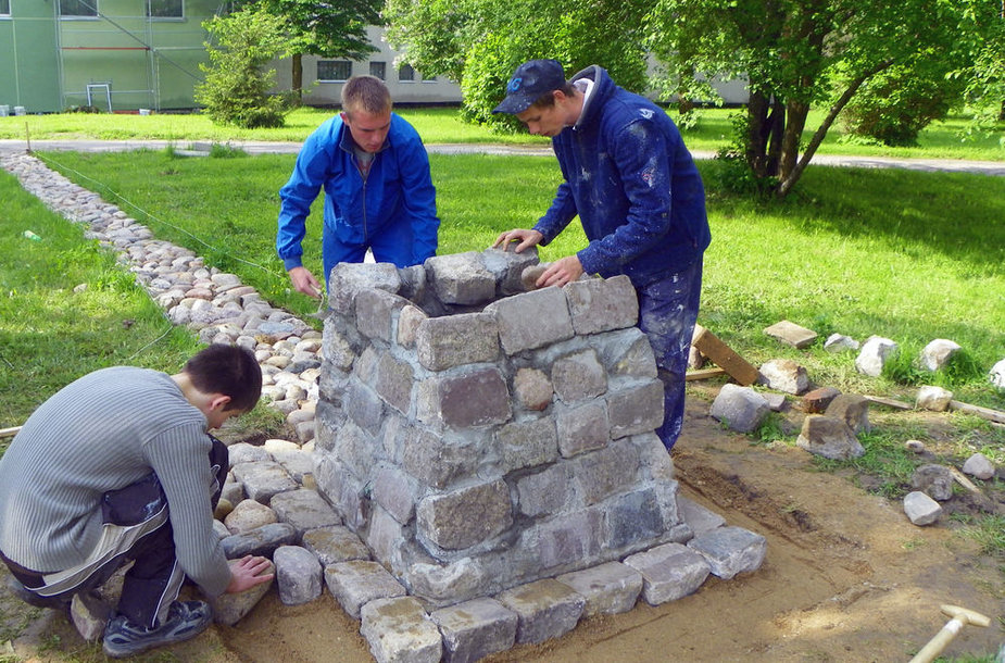 Aukuro statybos