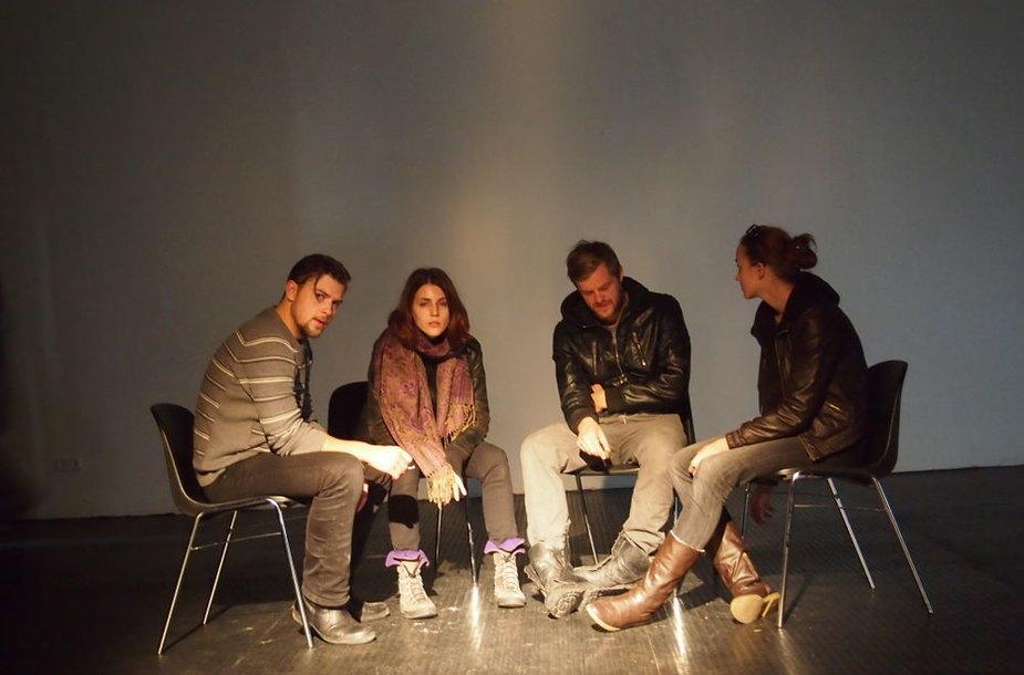 """Teatro """"Apeiron"""" kurybinė grupė"""