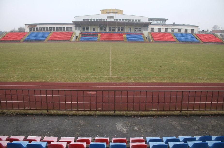 """""""Aukštaitijos"""" stadionas"""