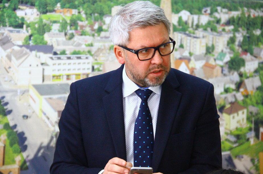 Rokiškio rajono meras Antanas Vagonis