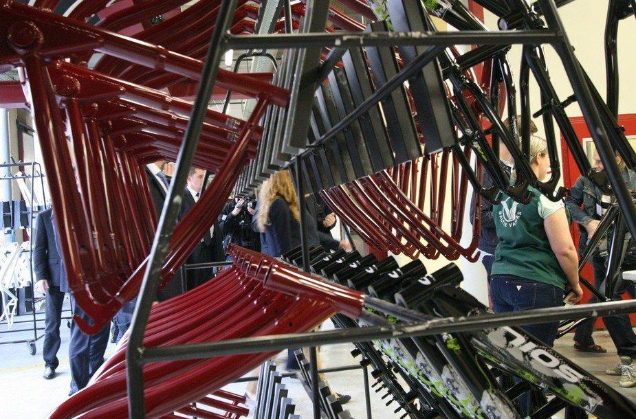 Šiaulių dviračių gamykla švenčia 70 metų jubiliejų