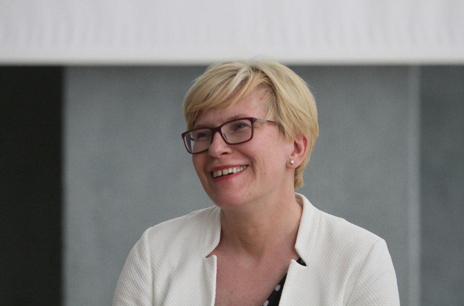 Ingridos Šimonytės diskusija Šiauliuose