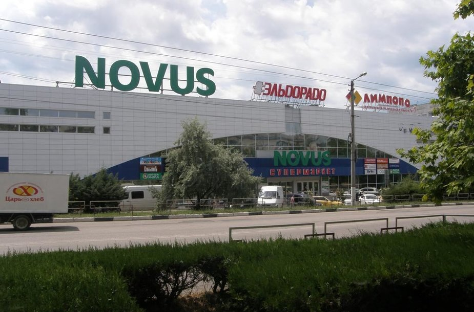 Novus parduotuvė Kryme
