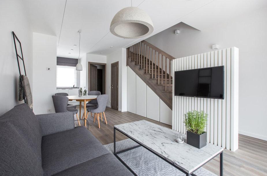Triaukštis butas – estetikos ir praktiškumo vienovė