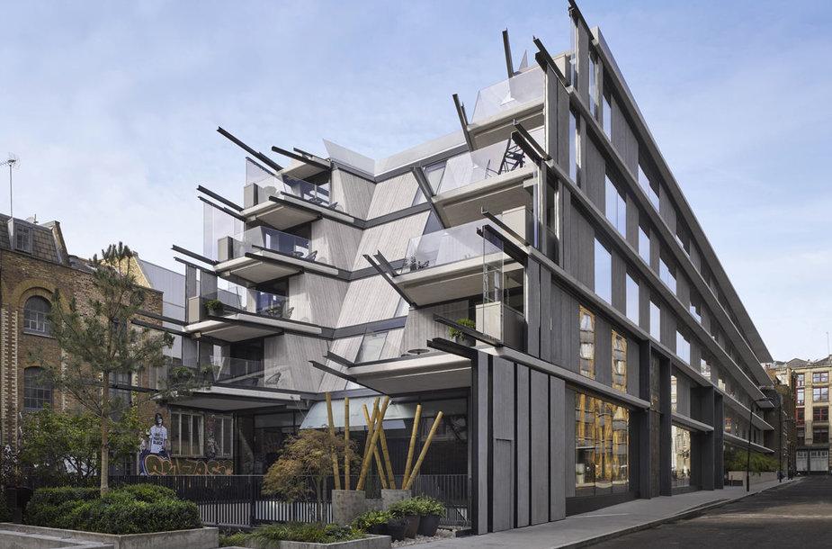 Roberto De Niro valdomas viešbutis Londone