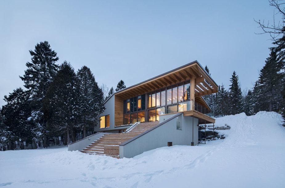 Žiemos namas Kanadoje