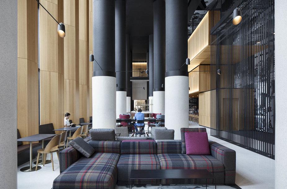 Rafinuotas viešbutis Monrealyje