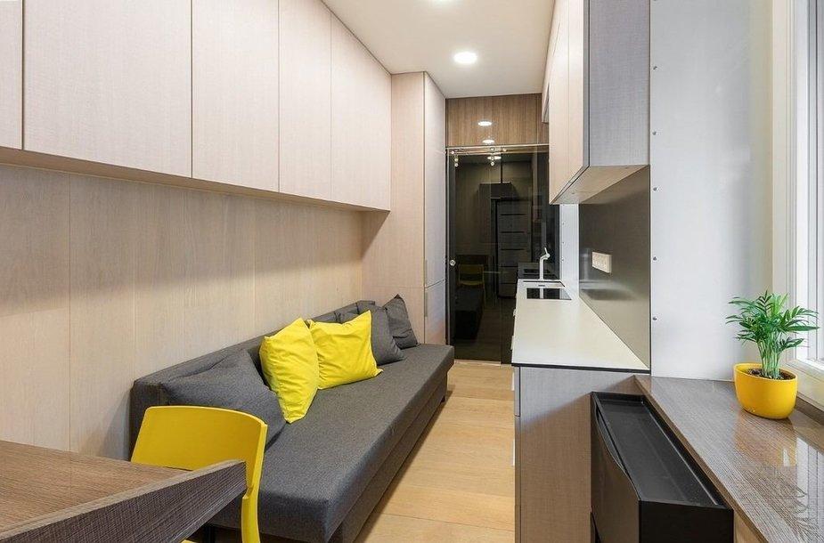 Vilniaus Pilies g. parduodamas 10 kv. m ploto butas