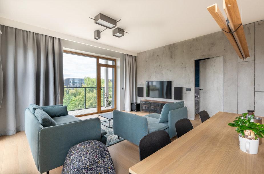 Modernus butas šeimai pačioje Vilniaus širdyje