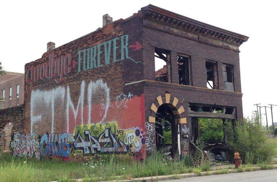 Apleistas Detroitas