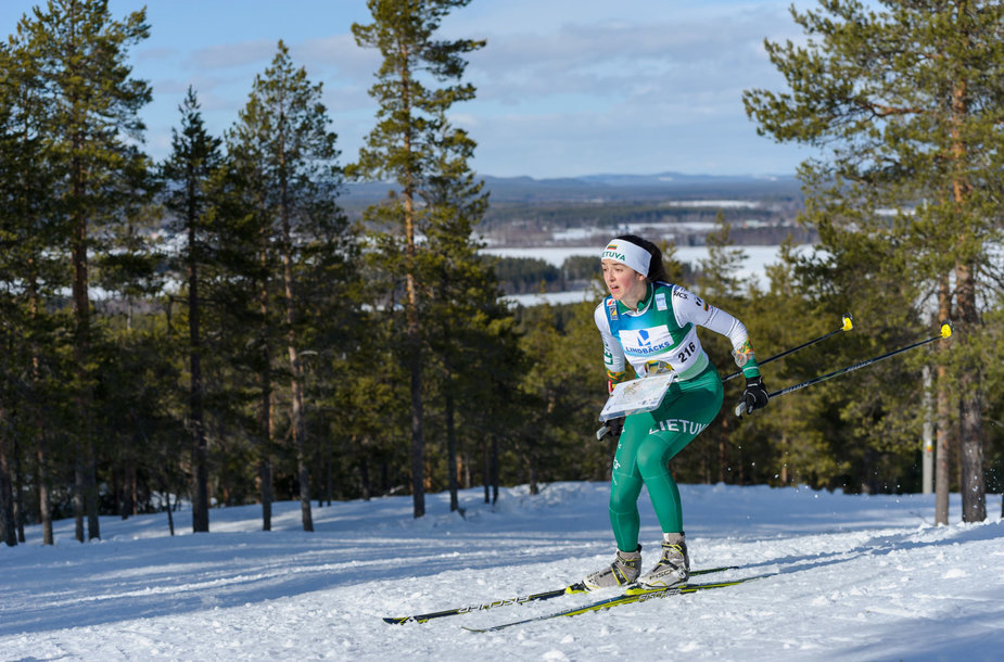 Lietuvos orientacininkai pasaulio čempionate Švedijoje.