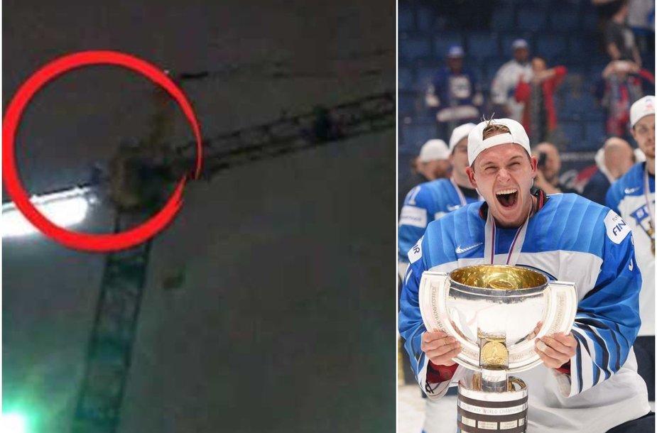 Šventė Suomijoje  – šalies ledo ritulininkai tapo pasaulio čempionais.