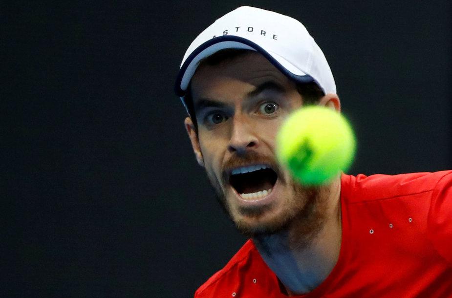 Andy Murray papasakojo apie siaubingus išgyvenimus.