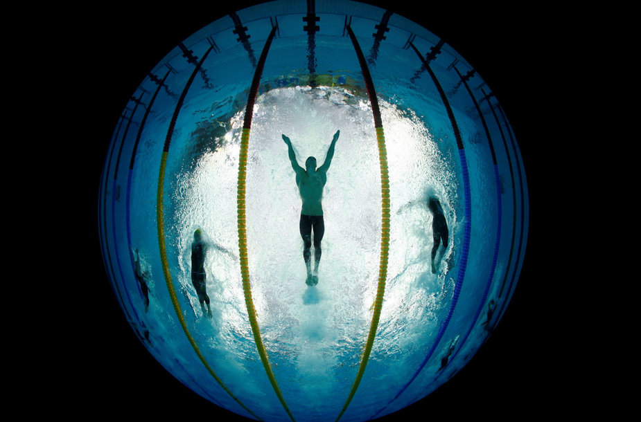 Plaukimo istorijos įdomybės. M.Phelpsas