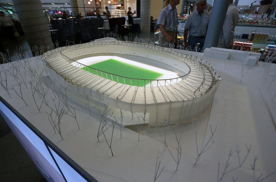 Pristatytas S.Dariaus ir S.Girėno stadiono rekonstrukcijos projektas