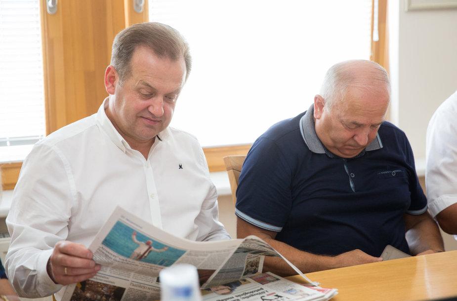 Artūras Skardžius, Vytautas Kamblevičius