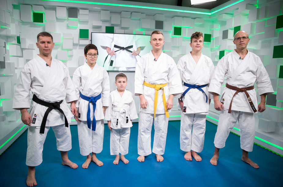 15min studijoje – išskirtinė karate profesionalų pamoka