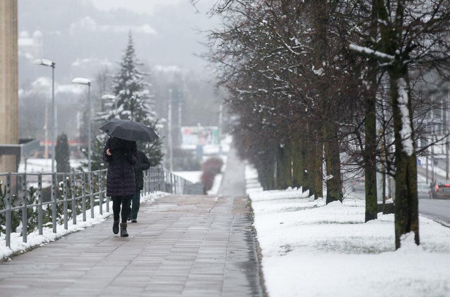 Velykų rytas Vilniuje