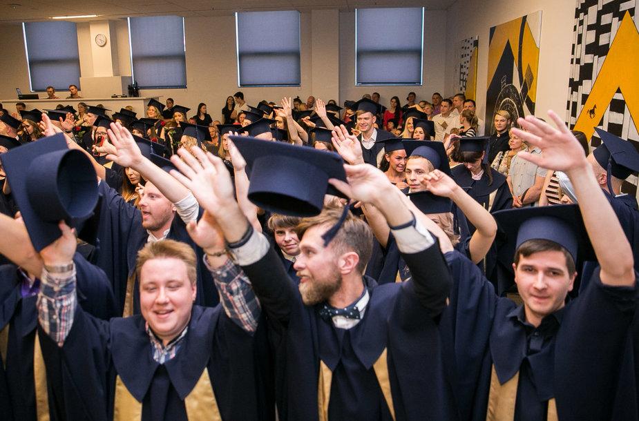 Igno Lelio diplomų įteikimas