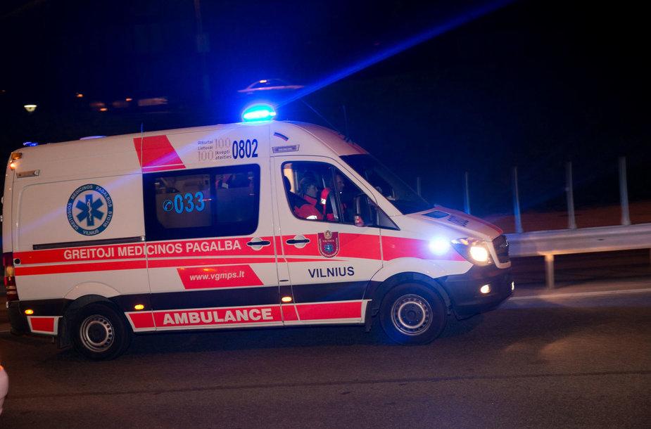 Naktinis kelių policijos reidas Vilniuje