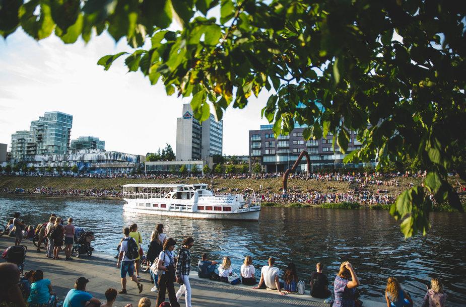 25-asis Kristupo vasaros festivalio gimtadienis – ant vandens