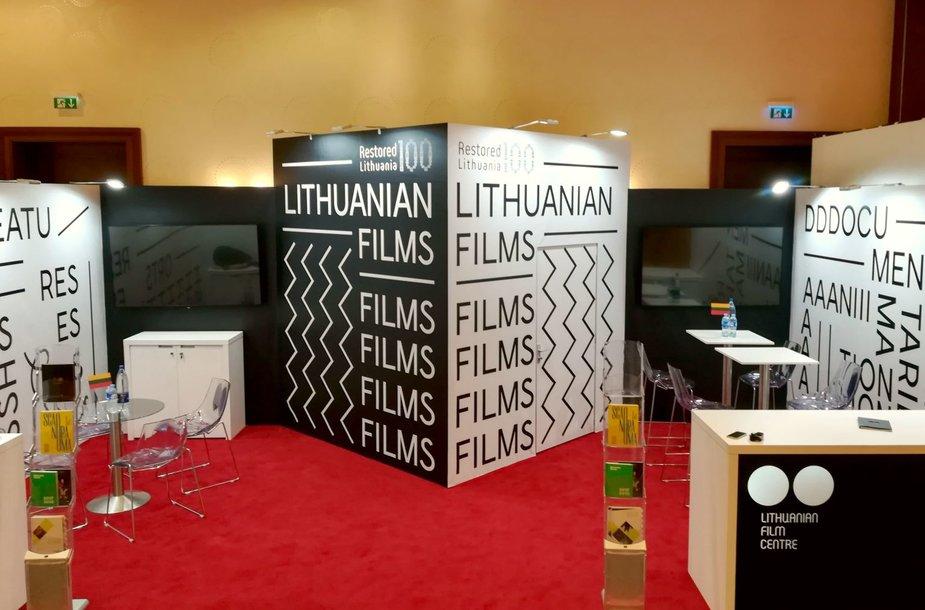 Lietuvos nacionalinis stendas Europos kino mugėje