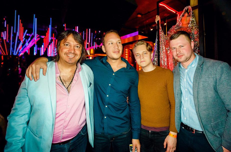 "Vakarėlio ""Mojo Lounge"" klube akimirka"