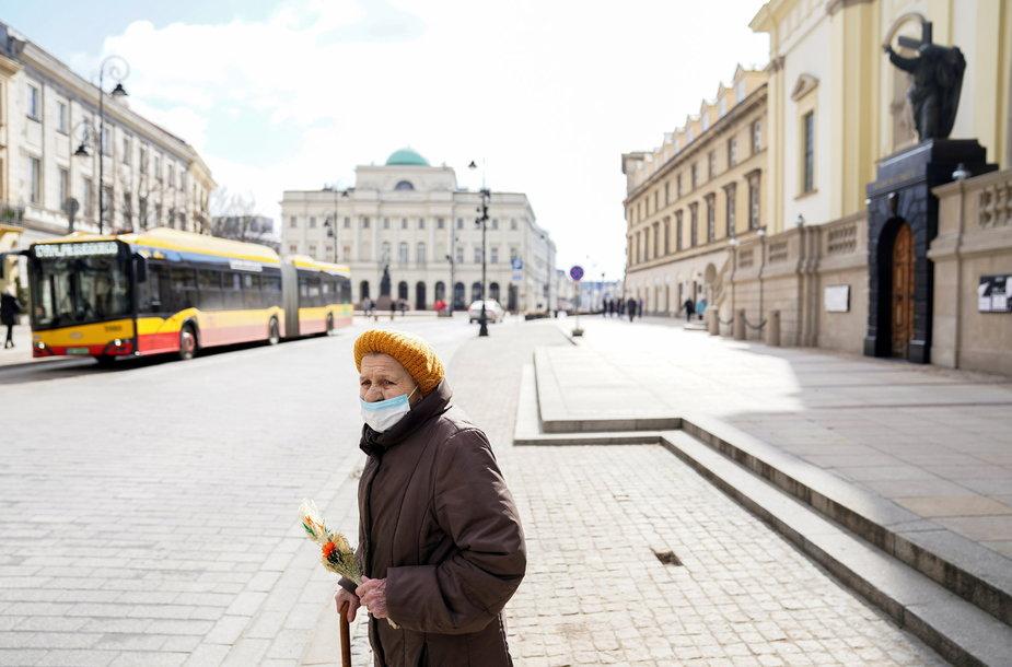 Varšuva per pandemija