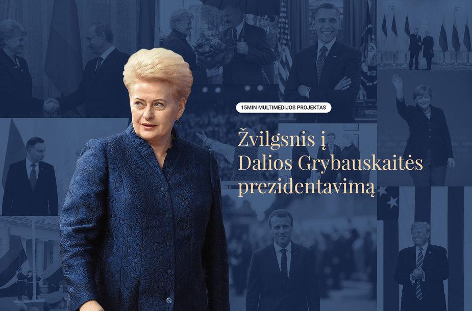 Multimedija apie Dalią Grybauskaitę