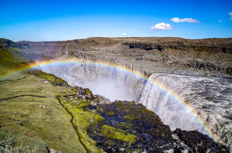 Gulfoso krioklys, Islandija
