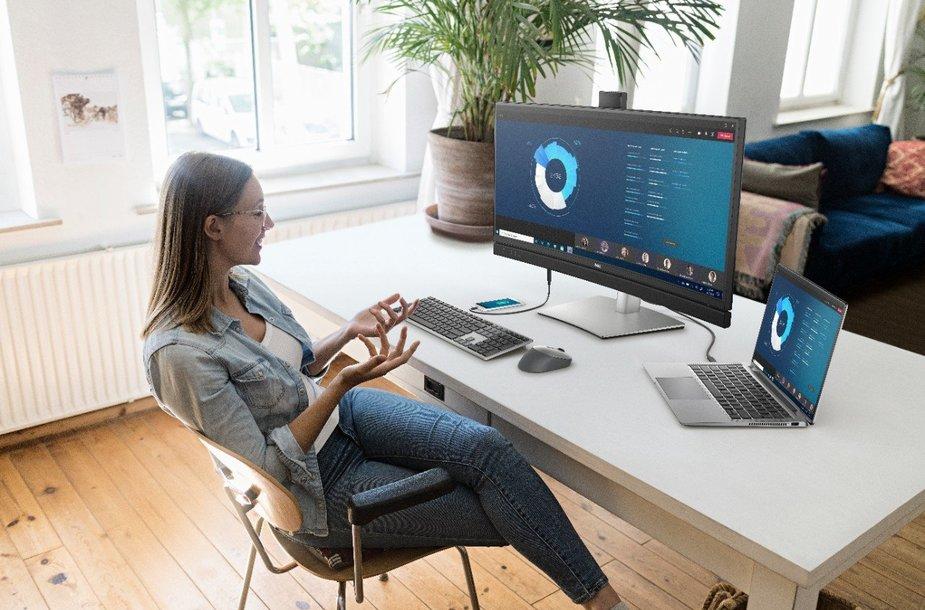 """""""Dell Technologies"""" įrenginiai – patogiam darbui iš namų ir biure"""